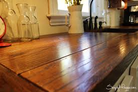 Kitchen Countertop Ideas by Diy Wide Plank Butcher Block Counter Tops Simplymaggie Com