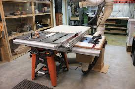 table saw router extension router lift outfeed table kc area