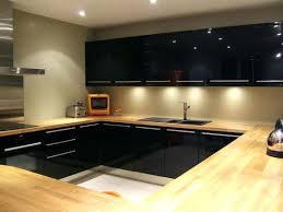 meuble cuisine noir laqué cuisine noir laque et bois nouveau meuble cuisine laque noir