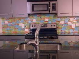 kitchen how to create a colorful glass tile backsplash hgtv