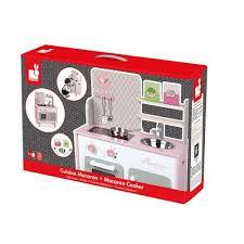 janod cuisine en bois jouets d imitation cuisine macaron bois achat et vente