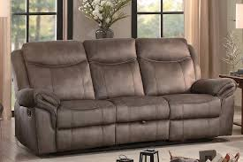 Fabric Reclining Sofa Aram Fabric Recliner Sofa Andrew S Furniture And Mattress