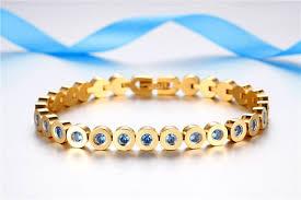 stainless steel crystal bangle bracelet images Stainless steel and crystal tennis bracelet jpg