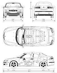 saab convertible black the blueprints com blueprints u003e cars u003e saab u003e saab 9 3