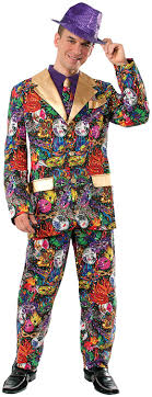 mardi gras costumes men forum novelties men s mardi gras suit and tie costume