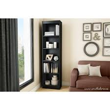Skinny Tall Bookshelf Bookcase Use The Narrow Bookcase To Organize Your Book