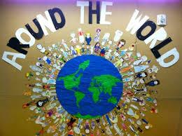 best 25 world bulletin ideas on school library decor