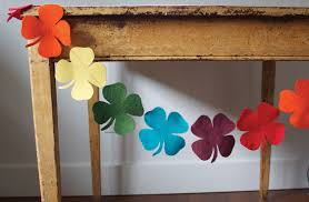 craftaholics anonymous 17 st patrick u0027s day garlands