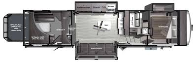 fifth wheel rv floor plans space craft v390 287re prevnext