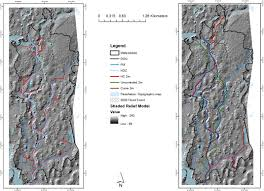 assessment of drainage network extractions in a low relief area of