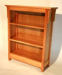 Solid Cherry Wood Bookcase Lighthouse Woodworking