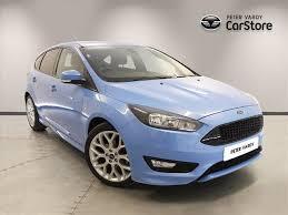 ford focus for sale scotland used 2017 ford focus hatchback 1 0 ecoboost 125 st line 5dr for