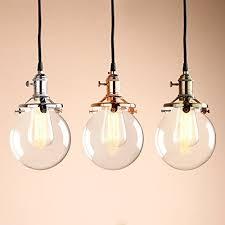 industrial pendant lighting fixtures permo vintage industrial pendant light fixture mini 5 9 round clear