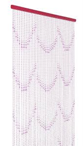 Diamond Beaded Curtain by Pink Beaded Curtains That Bohemian