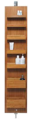 Bamboo Shelves Bathroom Bamboo Bathroom Accessories Lightandwiregallery