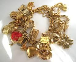 charm bracelet gold vintage images Vintage gold charm bracelet found at an antique show flickr jpg