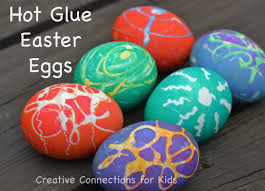 cheap easter eggs hot glue color beautiful easter eggs