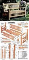 Wooden Garden Furniture Plans Best 25 Homemade Outdoor Furniture Ideas On Pinterest Outdoor