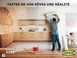 publicité cuisine ikea meubles de cuisine faites de vos rêves une réalité avril