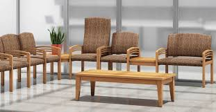 Office Furniture Waiting Room Chairs by Wood Vs Steel Frames Which Is Best For Waiting Room Chairs