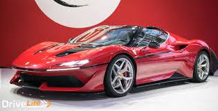 ferrari car 2016 ferrari celebrates 50 years in japan with j50 drive life drive life