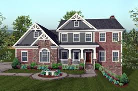 4 Bedroom Craftsman House Plans by House Plan 74816 At Familyhomeplans Com