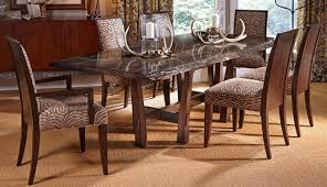 Harden Dining Room Furniture Rio Iron Base Dining Table 1681 400 Harden Furniture Tables