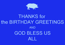 thank you message for birthday greetings thank you notes