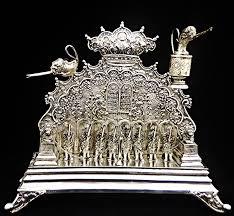 antique menorah antique collectible 19th century german 800 silver