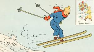 tintin christmas card drawings to raise 2 2m news the times