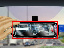 No Blind Spot Rear View Mirror Reviews How To Use The Rear View Mirror 10 Steps With Pictures