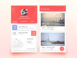 app design inspiration 50 user profile page design inspiration muzli design inspiration