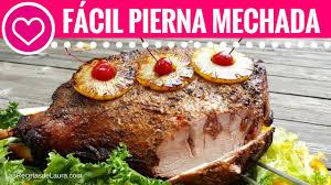 recetas para thanksgiving receta de pierna de cerdo al horno mechada oven roasted pork