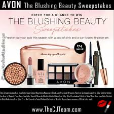 avon march sweepstakes more than makeup online