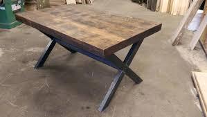 table cuisine en bois table cuisine bois brut photo cuisine detroit niocad info