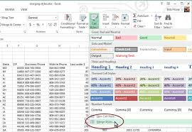 Change Table Style In Excel How To Format Your Spreadsheets In Excel With Styles