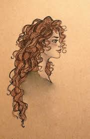 best 25 curly hair drawing ideas only on pinterest drawing hair
