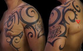 tattoo tribal chest arm chest tattoos eemagazine com