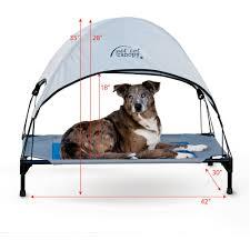 k u0026h pet products pet cot canopy medium tan walmart com
