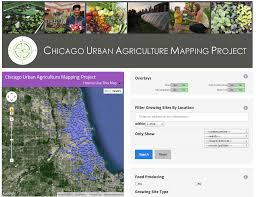 Chicago Community Map by Chicago Urban Agriculture Mapping Project Advocates For Urban