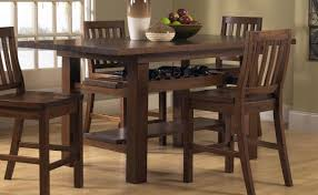 bar height dining room tables and chairs duggspace new tall dining