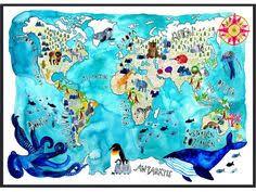 weltkarte für kinderzimmer europakarte frau ottilie europa landkarte kinderzimmer
