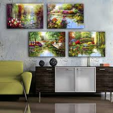 online get cheap pond paintings aliexpress com alibaba group