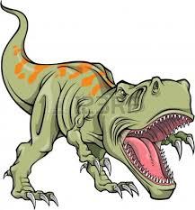 scary dinosaur clipart clipartxtras