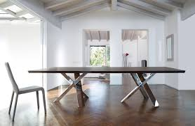 Dining Table Wood And Glass Contemporary Dining Table Wooden Glass Lacquered Wood