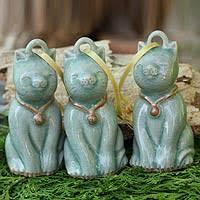 ceramic ornaments novica