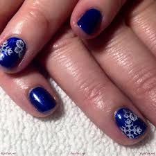 classy white and blue nail art designs for your nails white and