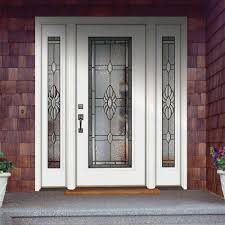 main door flower designs knotty alder 6 lite mission style entry door unit 36x80 ex 1334
