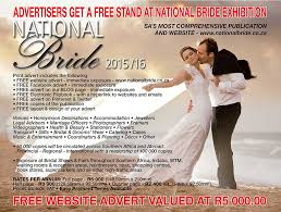 bridal websites national advert get your free stand today