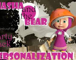 masha bear animated series instant digital download